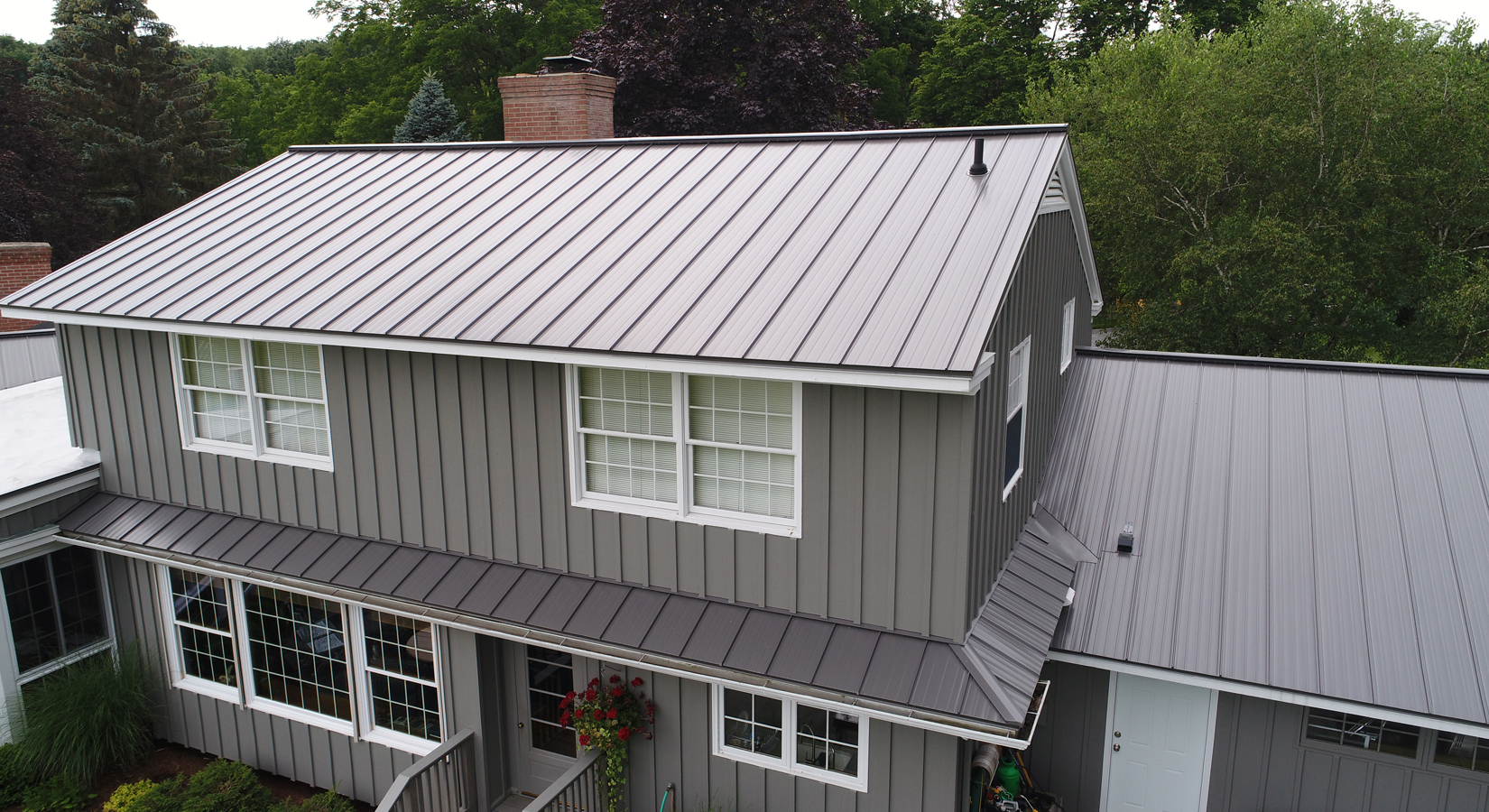 On site metal roof, metal roofing, metal roof syracuse, Onsite metal roof, seamless metal roof