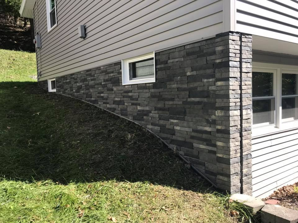 Stacked Stone Vinyl Siding